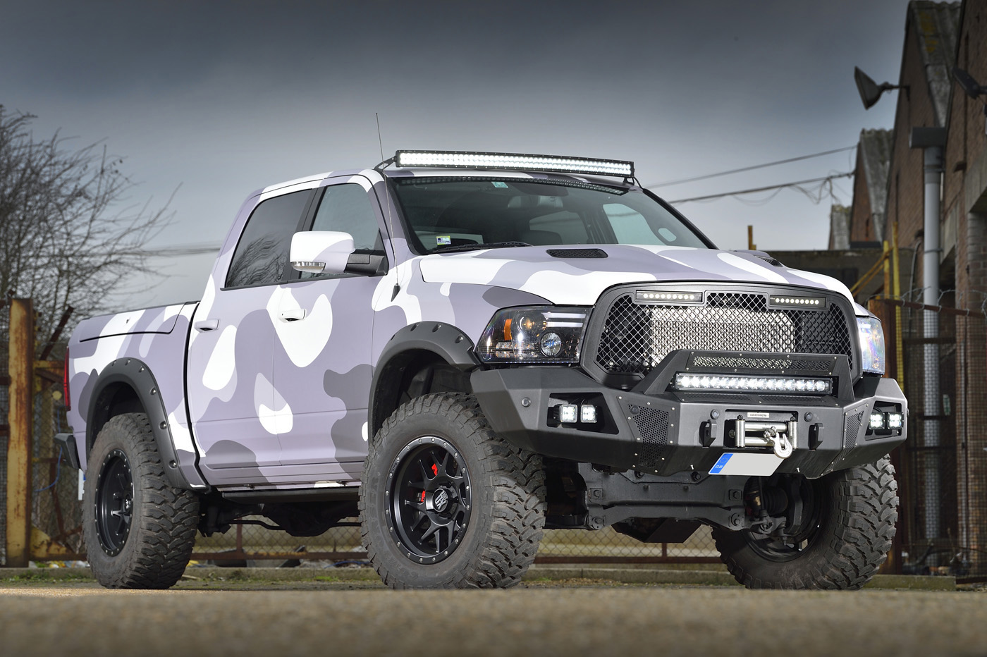 American Bespoke - David Boatwright Partnership - Dodge Ram