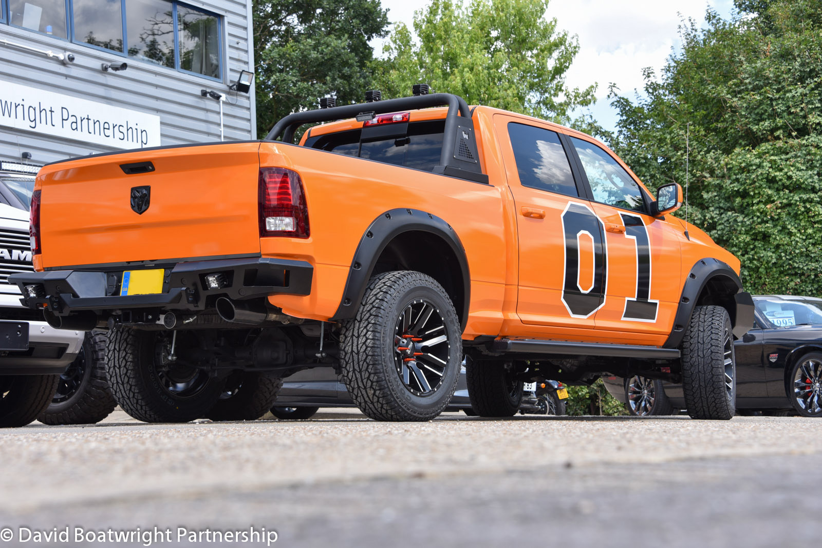 Custom Dodge Ram Dukes of Hazard