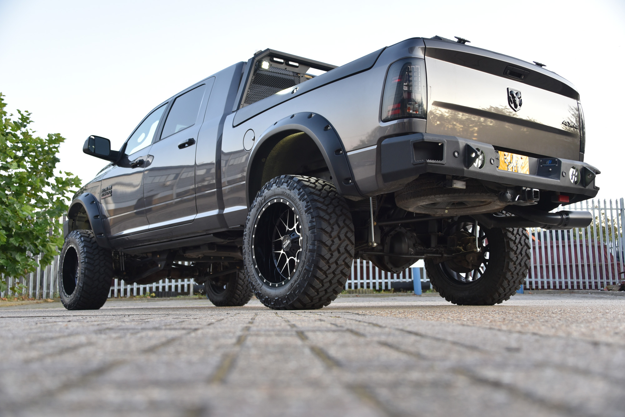 Dodge Ram 2500 Lifted Truck by David Boatwright Partnership American Bespoke