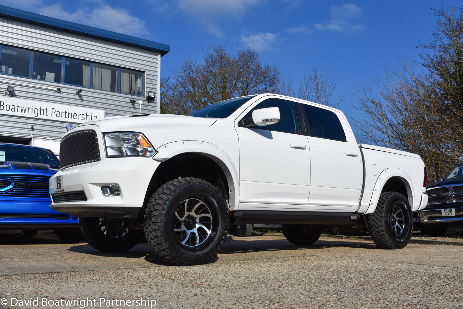 Six Inch Lifted Dodge Ram