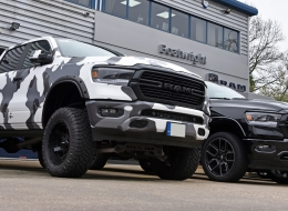 2019 Custom Ram Lifted Pickup UK