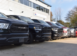 New RAM line up at David Boatwright Partnership in the UK - Official Dodge and Ram Dealer