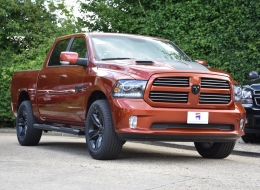 Dodge Ram Copper Limited Edition UK