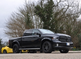 Ram Sport with Arches and Wheels