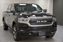 New 2019 RAM Limited in the showroom of David Boatwright Partnership UK