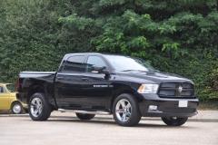 Black Crew Sport Dodge Ram