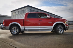 Ram Laramie Red over Silver