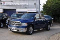 Dodge Ram Laramie Blue
