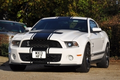 2012 Ford Mustang GT500 Shelby Supercharged