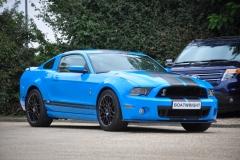 2013 Ford Mustang SVT GT500 Shelby Grabber Blue