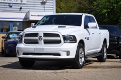 New Dodge Ram Crew Sport White