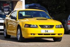 Mustang Screaming Yellow