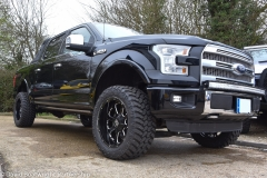 F150 lifted with KMC Wheels