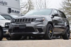 Jeep Grand Cherokee Trackhawk Supercharged in the UK