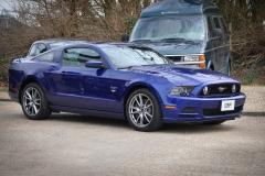 Mustang GT Blue