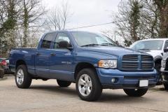 2004 Dodge Ram Quad Blue