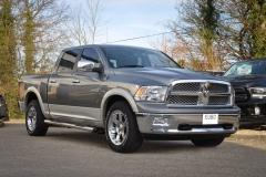 Dodge Ram Laramie in Grey over Silver