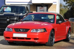 Mustang V6 Convertible in Red