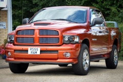 Dodge Ram Daytona in Go Mango