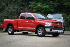 Dodge Ram Quad in Red