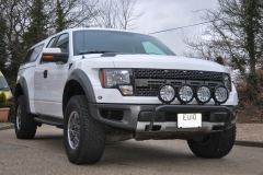 Ford F-150 Raptor with Lights