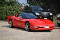 Chevrolet Corvette in Red