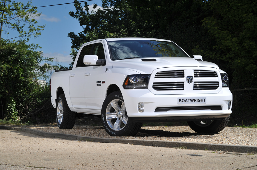 New Dodge Ram in White