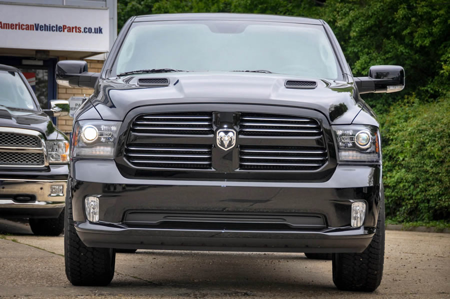New Dodge Ram Front