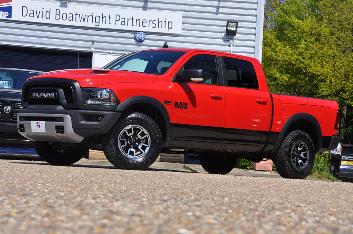 2016 Dodge Ram Rebel Red Rambox
