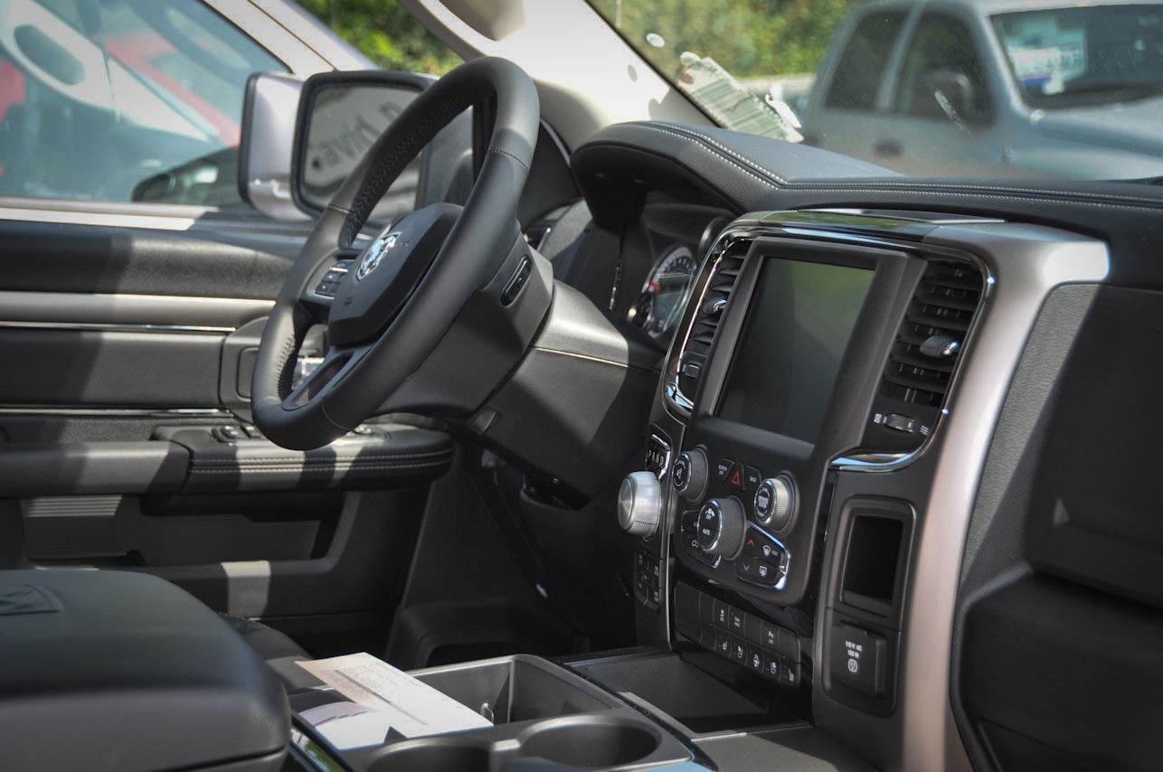 Dodge Ram Crew Sport Interior