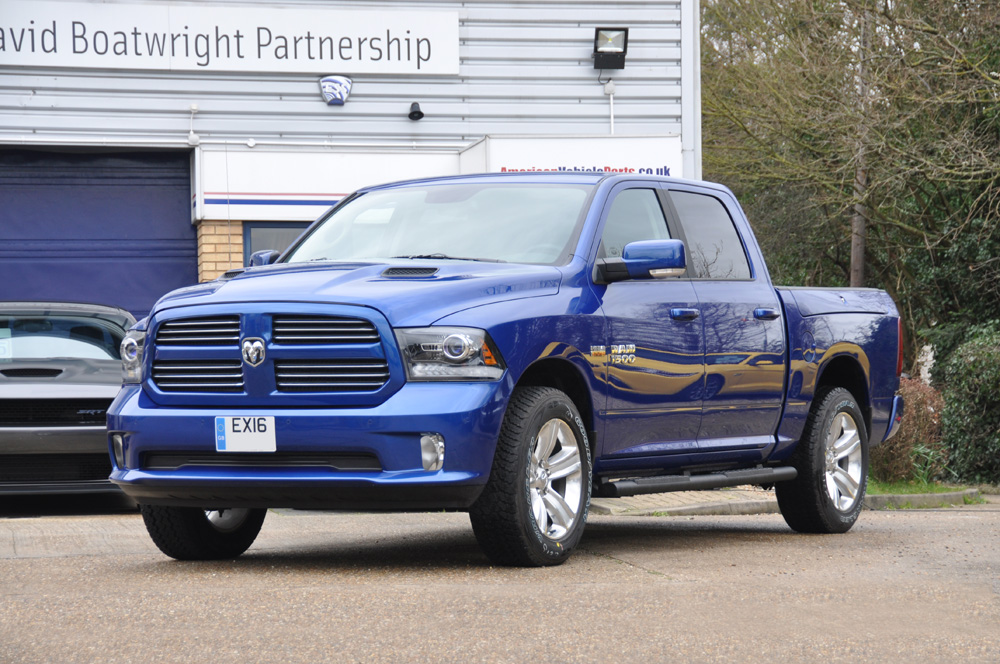 New Dodge Ram Crew Sport Blue