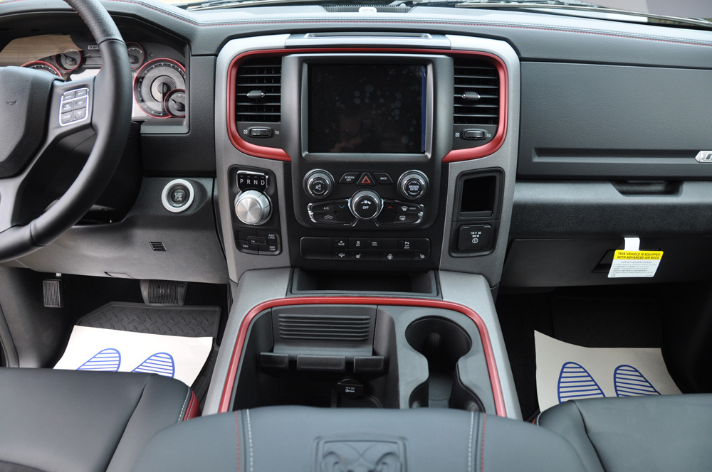 Dodge Ram Rebel Interior
