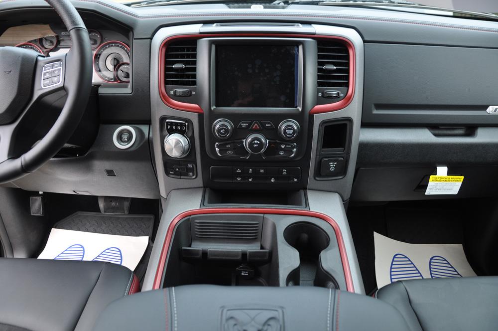 Dodge Ram Rebel Interior