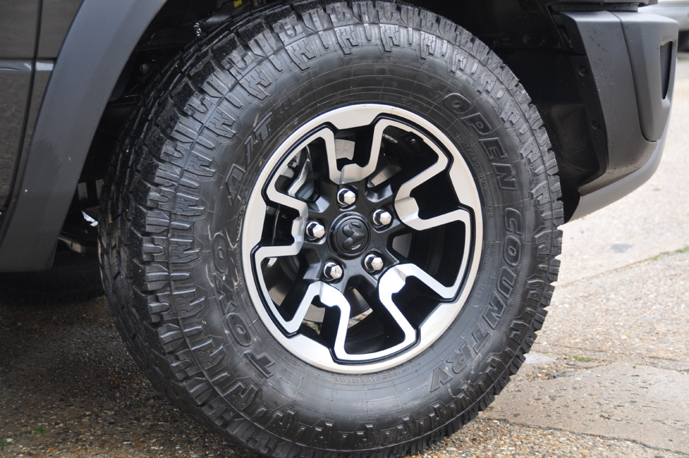 Dodge Ram Rebel Wheel