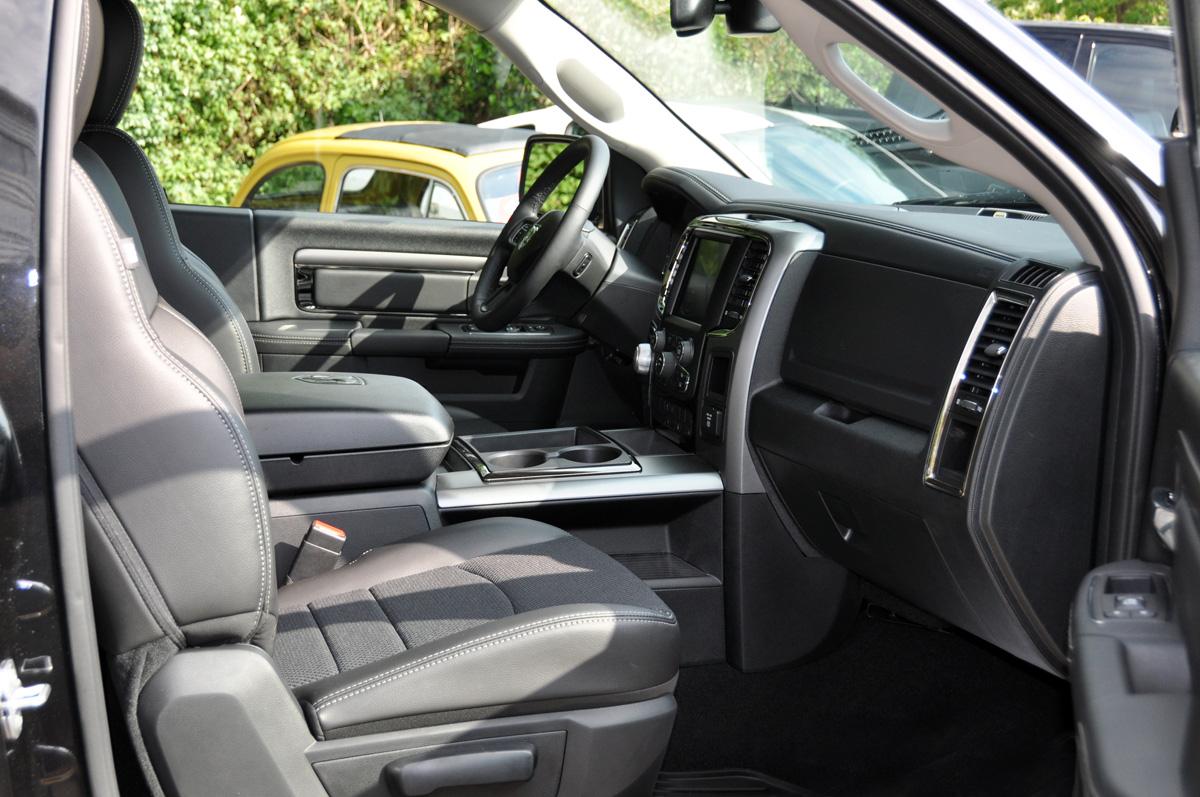 Dodge Ram Regular Cab Interior
