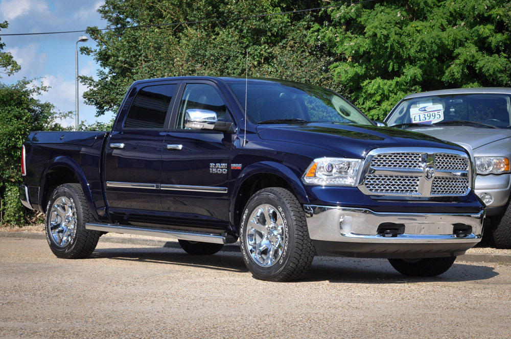 New Dodge Ram True Blue Laramie