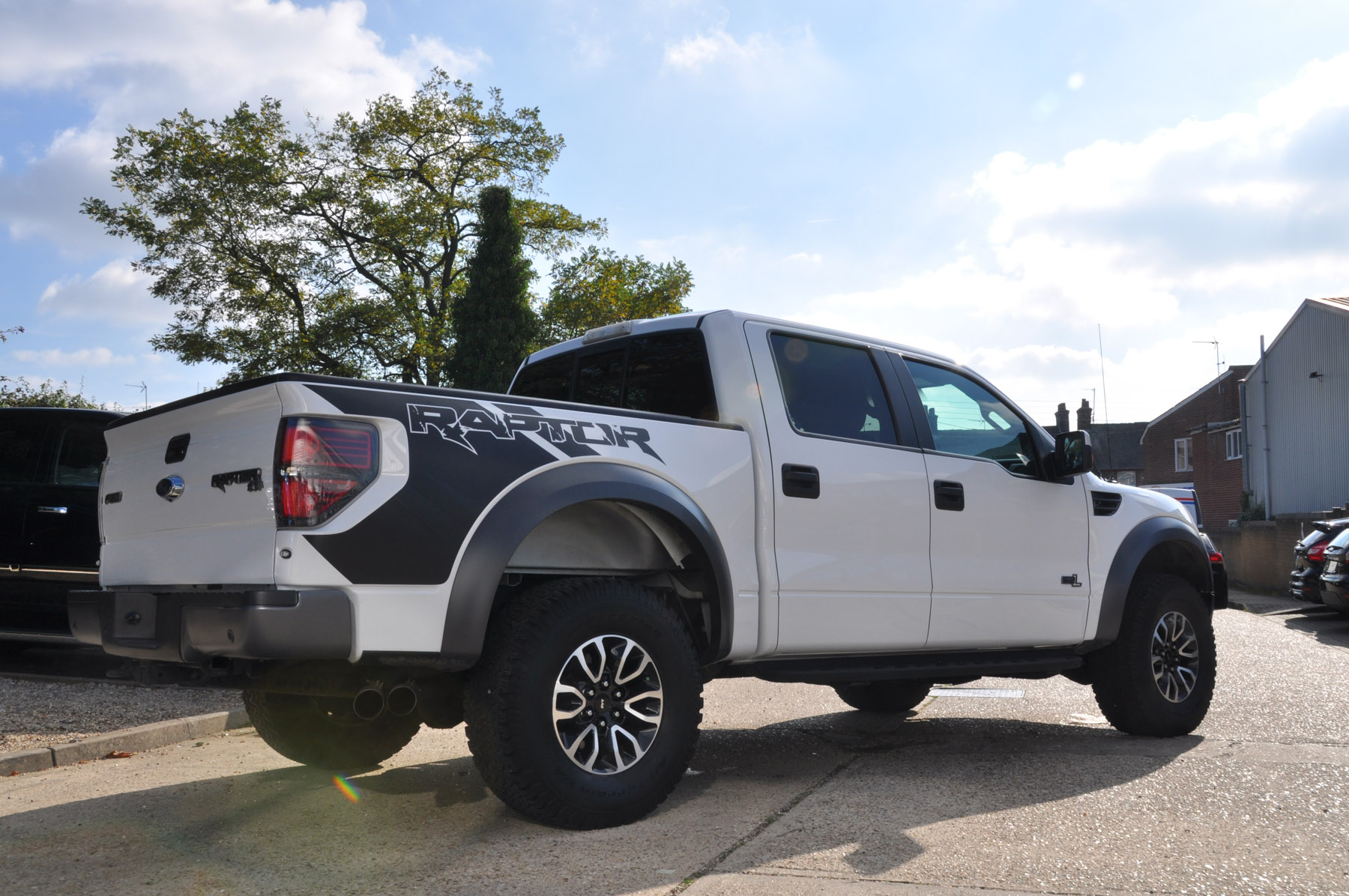 New Ford F150 Raptor Supercrew