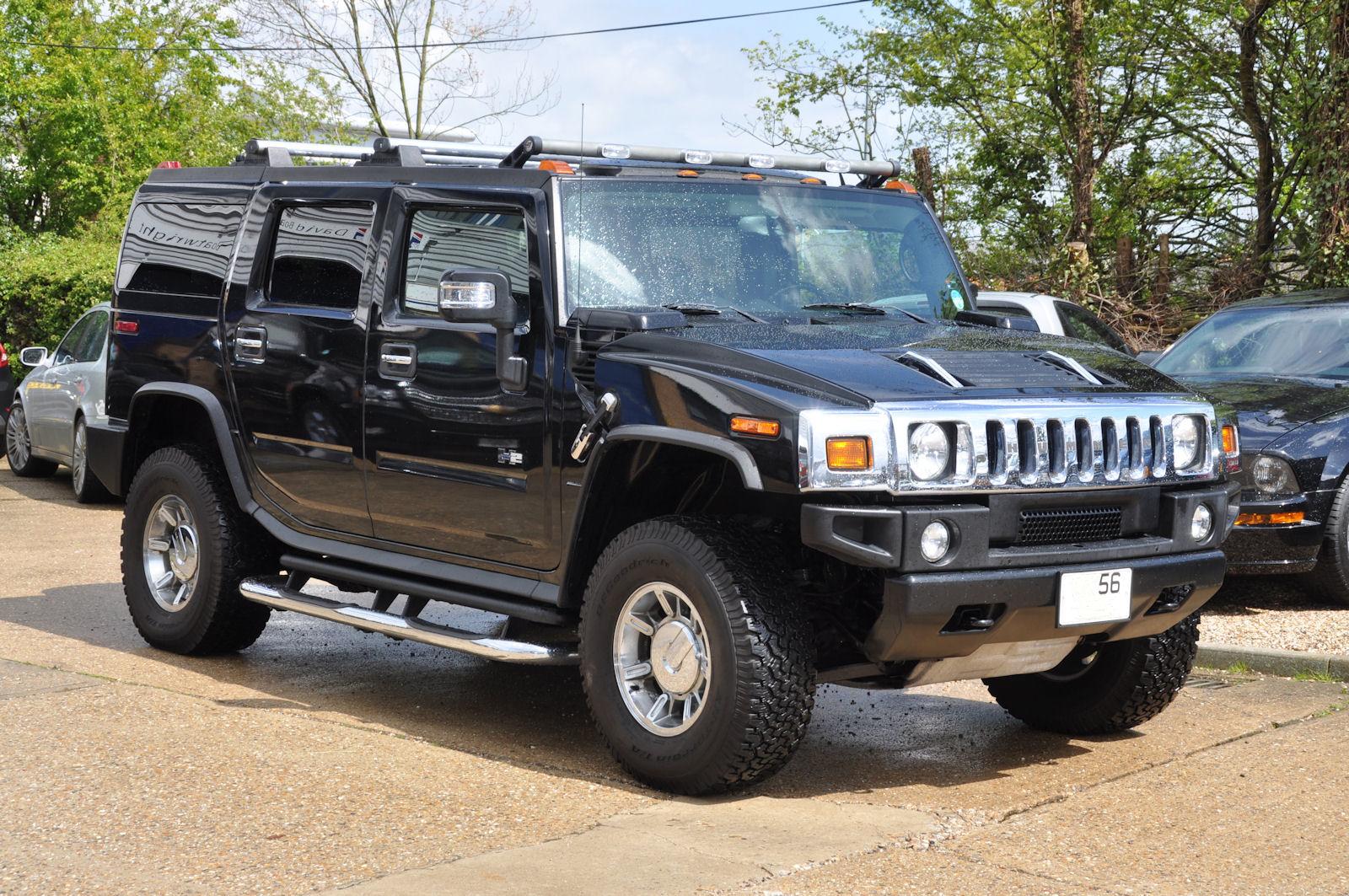 Hummer H2 Black