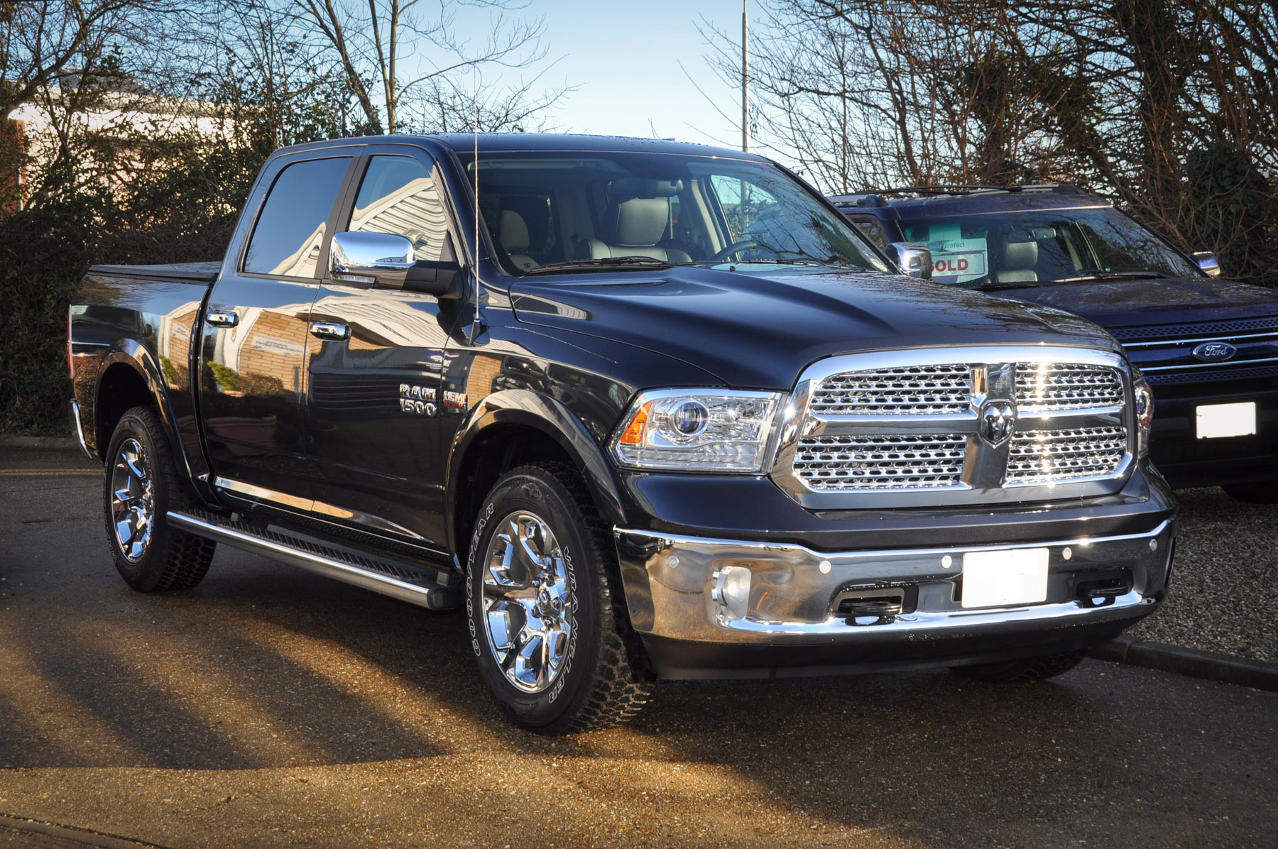 New Dodge Ram Laramie Black