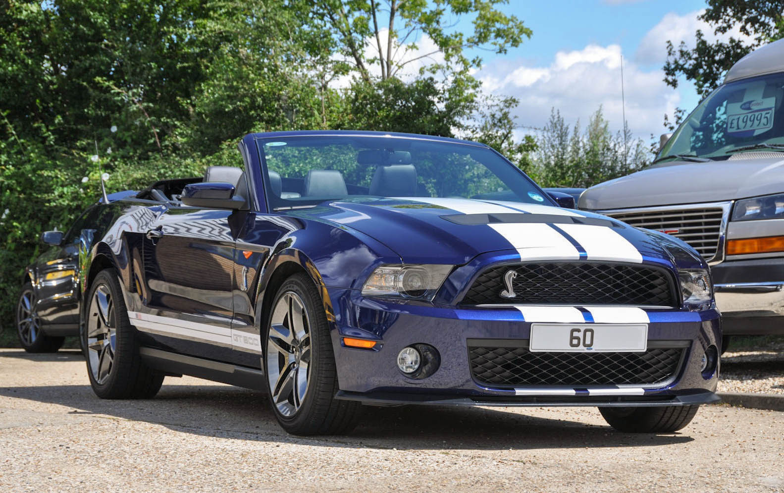 2011 60 Ford Gt500 Mustang Shelby Convertible 1 900