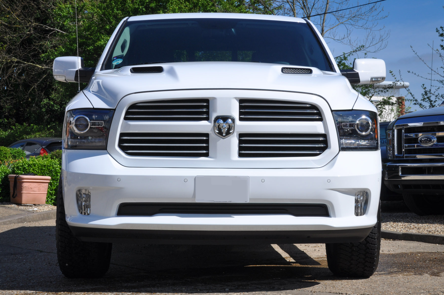 New Dodge Ram Sport in White