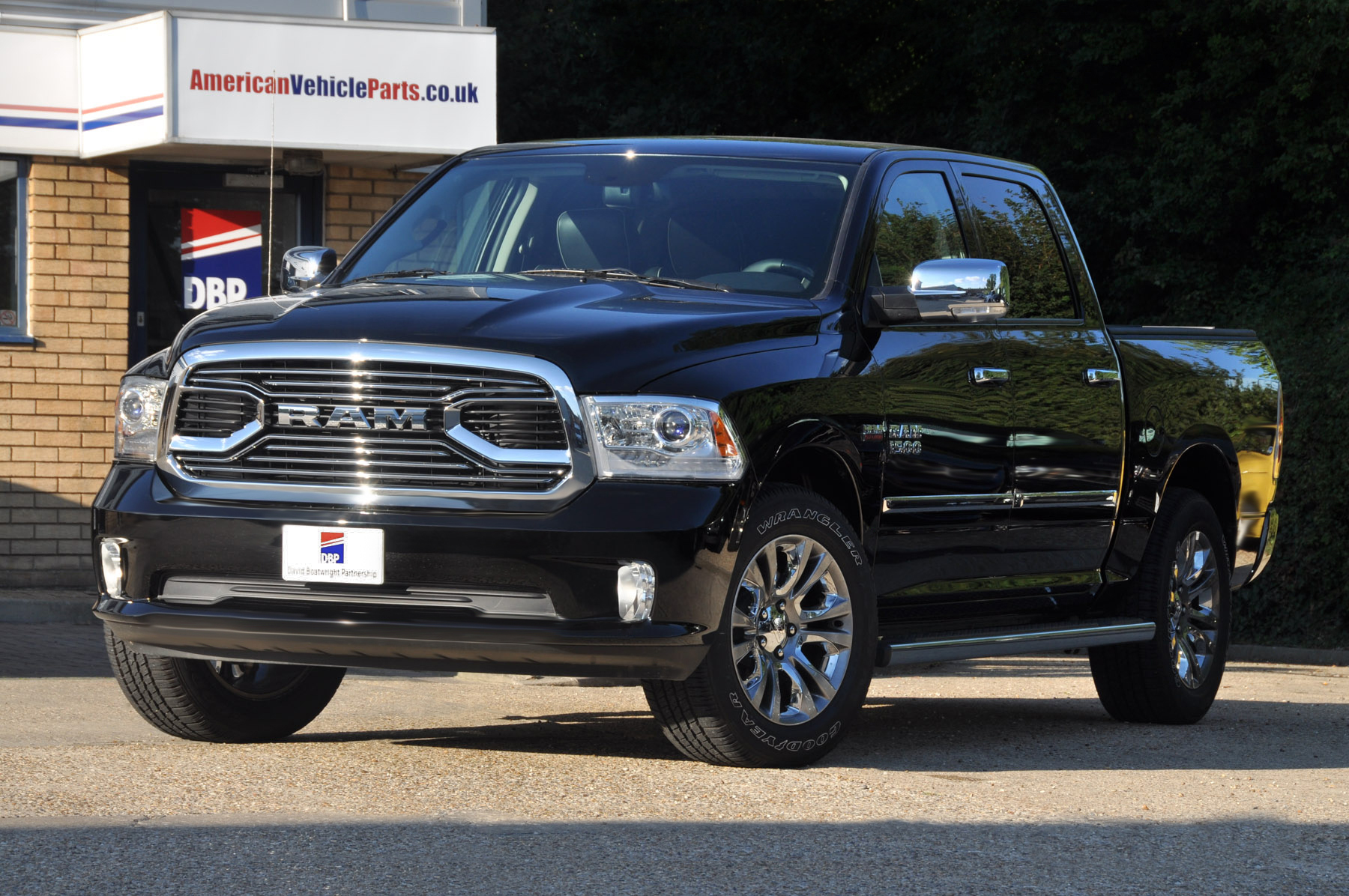 New Dodge Ram Limited Black