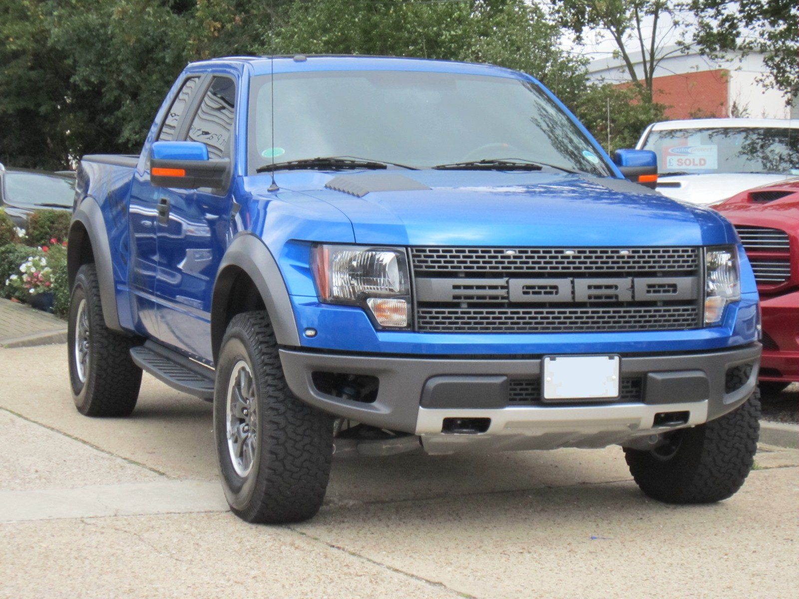 Ford F150 Raptor Blue