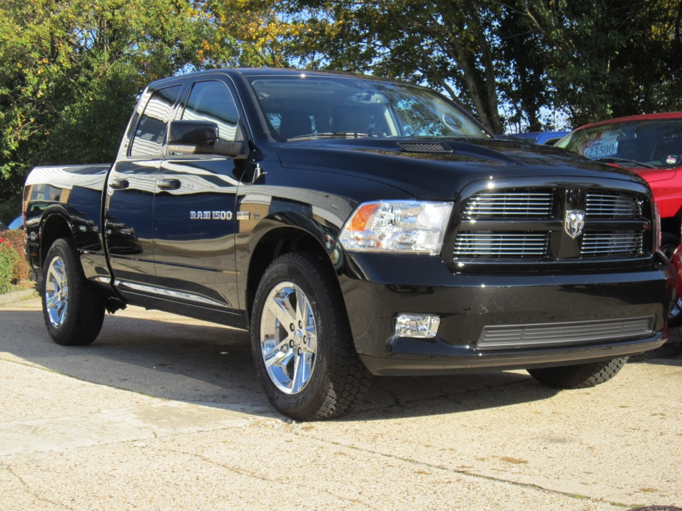 Dodge Ram Black