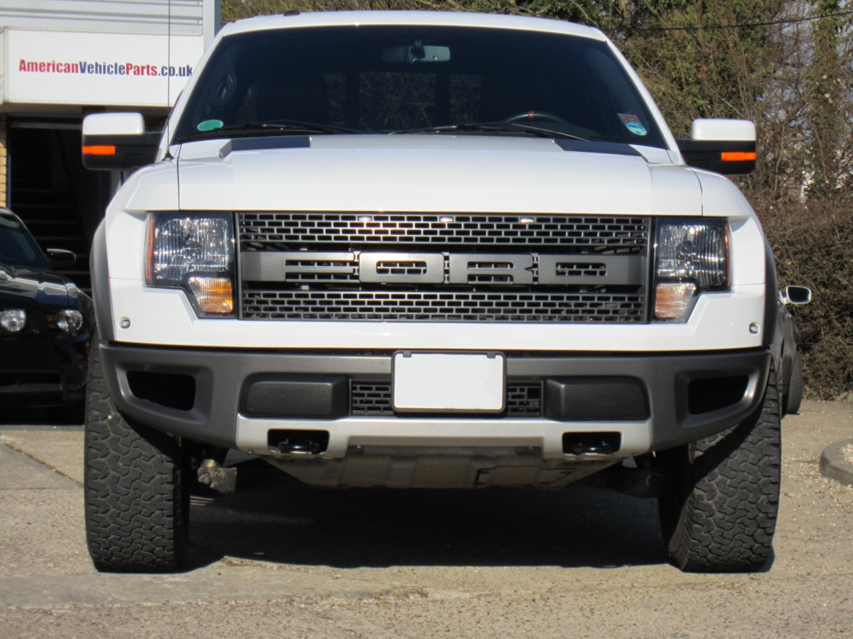 Ford F-150 Raptor White