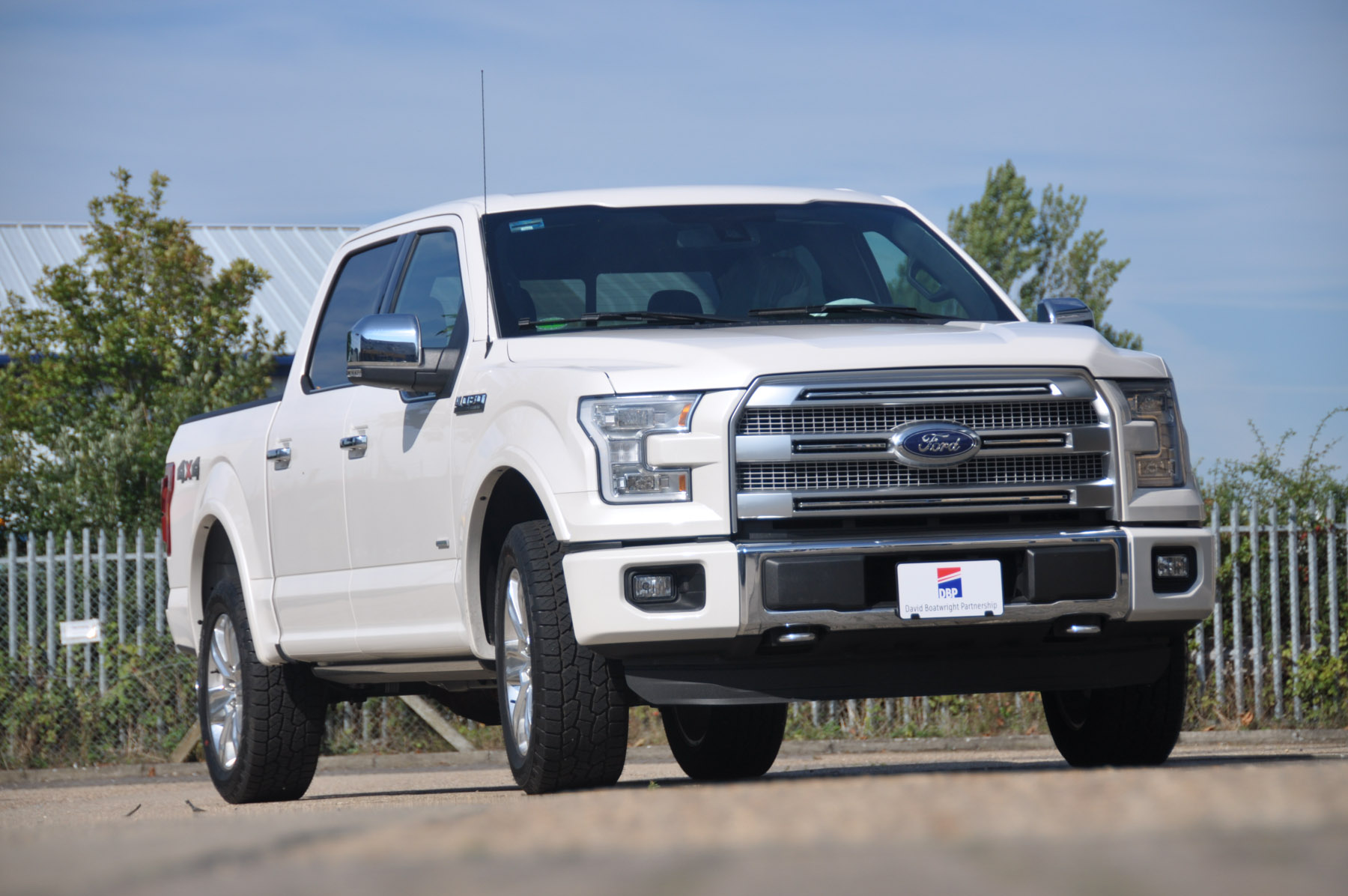 New Ford F150 Platinum