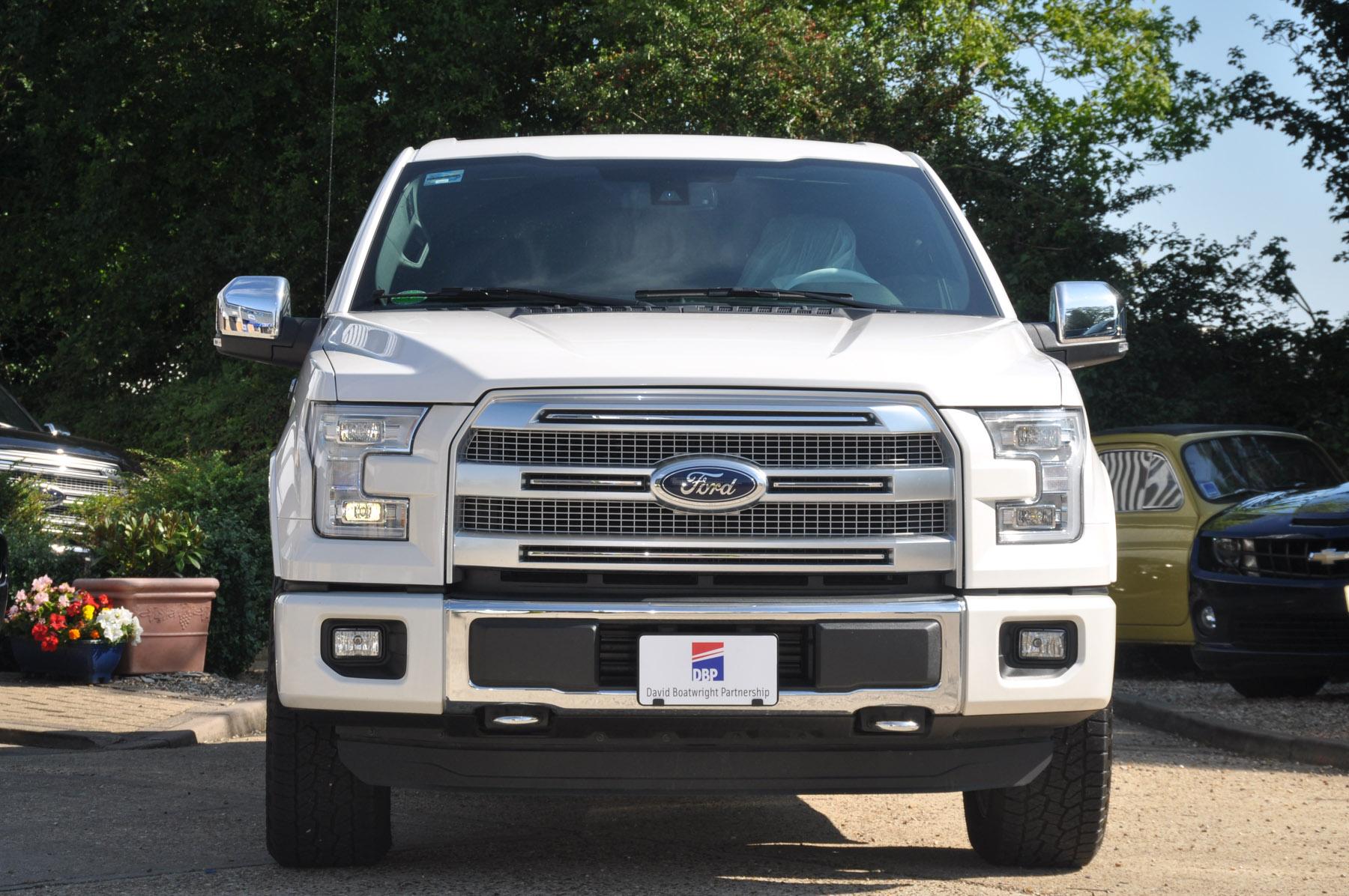 New Ford F150 Platinum