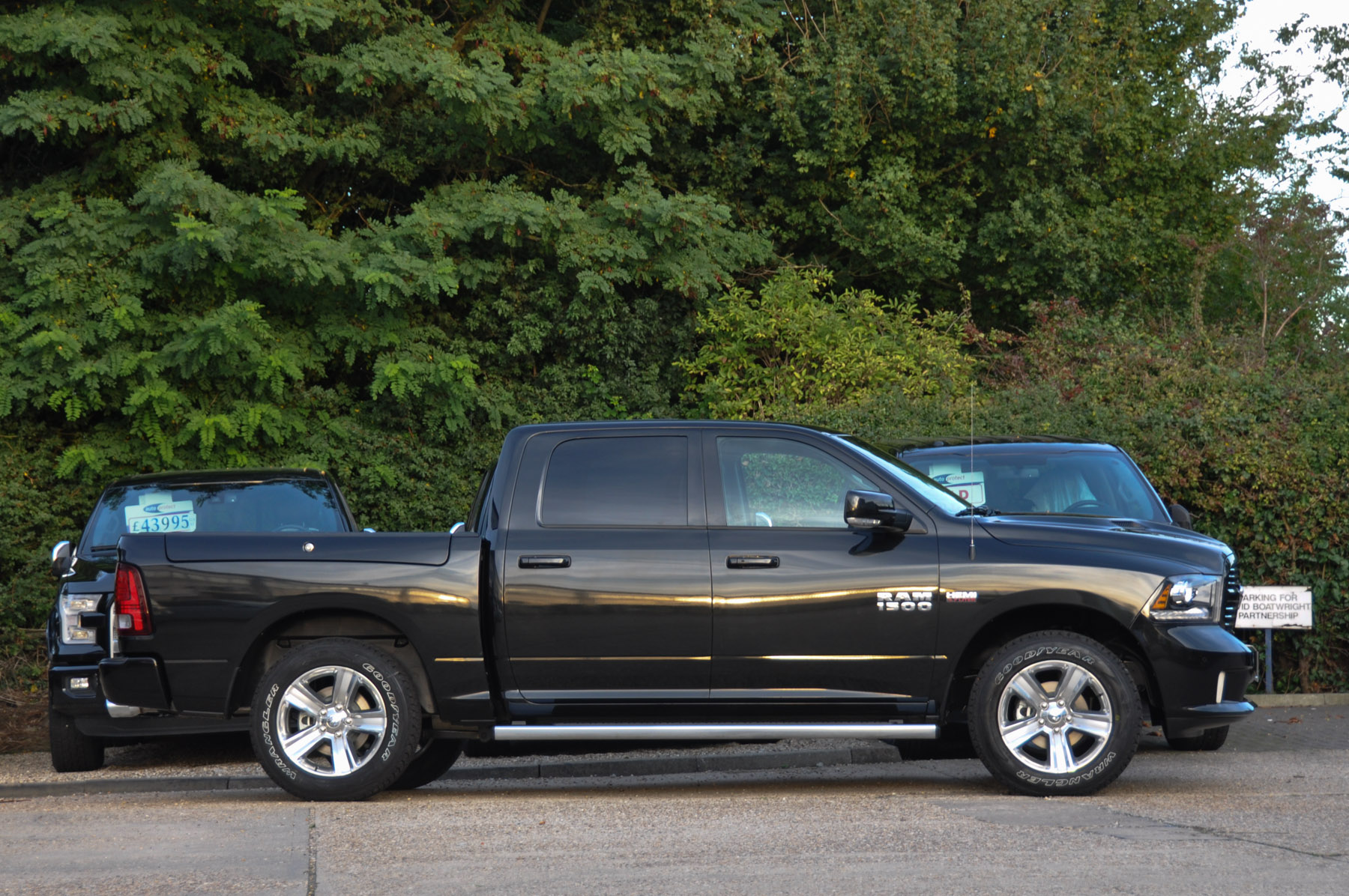 New Dodge Ram 1500 Crew Sport Rambox And Air Suspension