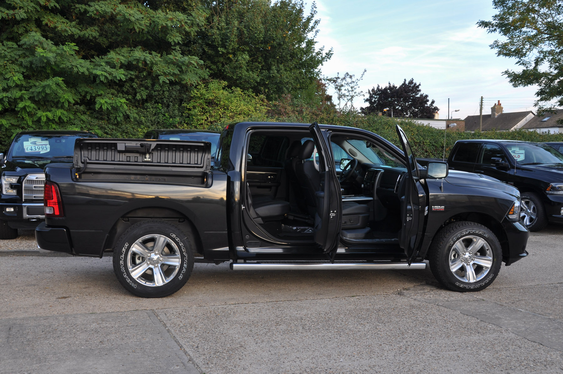 Dodge Ram with Rambox and Air Suspension