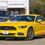 New Mustang GT Triple Yellow